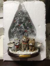 New ListingBradford Exchange Meowy Christmas To All Caroling Kitten Tree