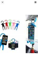 Holder Tools Car Phone Holder Car Silicone Cell Phone Flexible Funny Man Shape