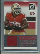 2015 Panini Donruss Threads #DT-CH Carlos Hyde San Francisco 49ers Relic