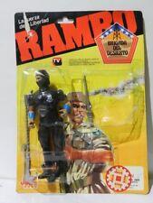 VINTAGE RAMBO BLACK DRAGON DESERT BRIGADE SEALED BRAND JOCSA 1989 VARIANT