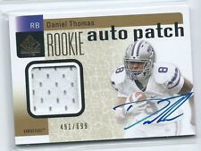 2011 SP Authentic Daniel Thomas RPA PRIME PATCH RELIC AUTO RC #231 /699 KSU