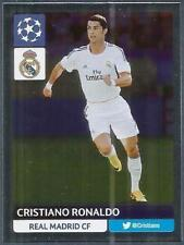 PANINI UEFA CHAMPIONS LEAGUE 2013-14- #322-REAL MADRID-CRISTIANO RONALDO-FOIL
