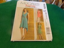 MCCALLS SEWING PATTERN WOMANS DAY COLLECTION DRESS SZ 4-12 5379