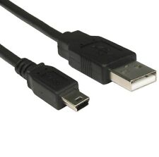1.8m MINI USB Cable Sync & Charge Lead Type A to 5 Pin B Phone Charger 2m / 6ft