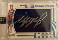 2019 20 PANINI INSTANT CLEAR VISION IGNAS BRAZDEIKIS ON CARD AUTO Rookie RC 1/10