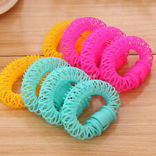 8pcs New Hairdress Bendy Hair Styling Roller Curler Spiral Curls Hair Jewelry FR