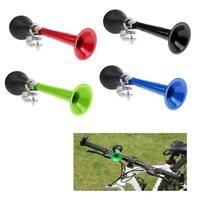 Retro Bike Bugle Bicycle Metal Air Horn Loud Alarm Bell Ring Rubber Squeeze