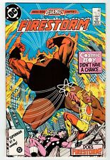 Marvel FIRESTORM #55 - NM Jan 1987 Vintage Comic