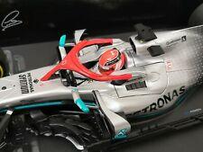 """Mercedes W10 Lewis Hamilton """" Monaco GP - Tribute Niki Lauda """" 2019 1/18 OVP"""