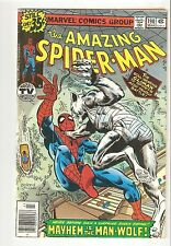 Amazing Spider-man #190 (Feb 1979) Vg 4.0 vs. Man-Wolf