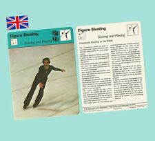 1979 Sportscaster Usa Rencontre Card - Figure Skating Scoring and Placing - Mint
