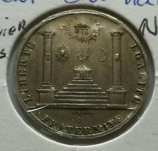 Monnaie de Nécessité ♦ Orient du HAVRE ♦ Jeton Maçonnique ♦ n°38 ♦ 10/X/5829 SUP