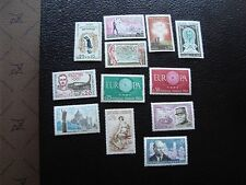 FRANCE - timbre yvert et tellier n° 1253 1254 1256 1264 a 1272  n** (C5)