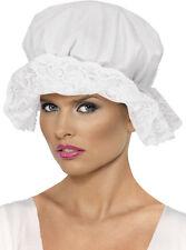Klassische Morgenhaube für Damen NEU - Karneval Fasching Hut Mütze Kopfbedeckung