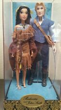 POCAHONTAS  DISNEY FAIRYTALE DESIGNER COLLECTION 2 DOLL SET LIMITED EDITION