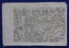 Original antique map, ENGLAND & WALES, 'INGILTERA', Marchetti / Ortelius, c.1655