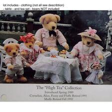 muffy NABCO Vanderbear Family High Tea  lot of 7 outfits vanderwear No bears