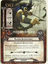 Lord of the Rings LCG - 1x Raven Skirmisher #154 - The antlered Crown