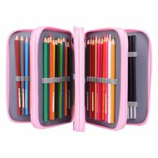 4 Layers 72 Pencil Case Bag Organizer Storage Large Capacity Pen Case Holder