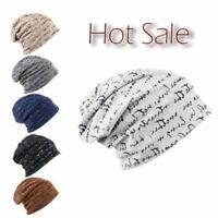 Cool New Men's Warm Hip-Hop Cotton Ski Slouch Unisex Cap Knit Hat Winter Beanie