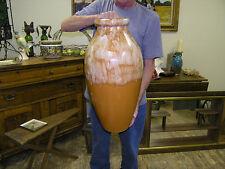 RRP Co Roseville  OHIO Stoneware Art Pottery Floor Vase Large