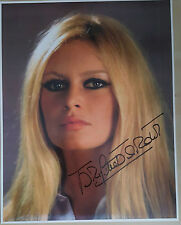 BRIGITTE BARDOT Signed 14x11 Photo 60s SEX SYMBOL COA