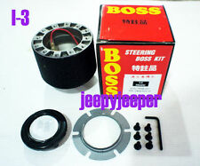 BOSS KIT STEERING WHEEL HUB ADAPTER HOLDEN RODEO ISUZU D-MAX TFR TF88-2002 I-3