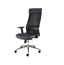 Eliza Tinsley THEBES - Mesh Back Swivel Office/Computer Operators Chair - Black