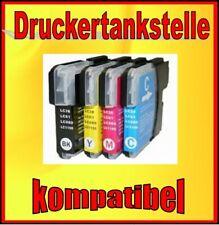 4 Comp. Cartridge for Brother dcp-j125 j140w j315w j515 mfc-j220 j265w j410 lc-985