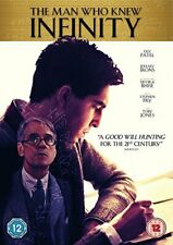 The Man Who Knew Infinity [Includes Digital Download] [DVD] [2016][Region 2]
