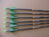 VICTORY ARCHERY 1/2 DOZEN CARBON ARROWS 55-70LB FREE SHIPPING BEAR ARCHERY, PSE