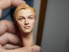 "1/6 Leonardo DiCaprio Head Carved Figure Model F 12"" Male Body"