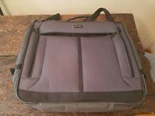 Eddie Bauer Garment Bag Luggage Black With Gray Trim 3a250115f0ca6