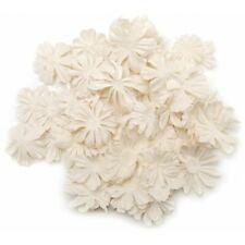 Prima Marketing Mulberry Paper Petals Pillar, Wildflower Mix ~ White, 529567