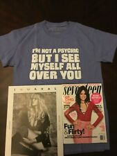 "Camila Cabello NBTS Tour 2018 ""Into It"" Psychic shirt & Guess+Seventeen Magazine"