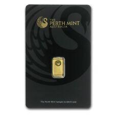 1 gram Gold Bar - Perth Mint (In Assay) - SKU #78886