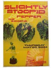 Slightly Stupid Pepper Ziggens Poster Fillmore Concert