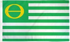 Ecology Flag Environment Banner Theta Pennant Green Movement Recycle Earth 3x5