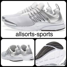NIKE AIR PRESTO PREMIUM UK 12 EUR 47.5 848141-001 METALLIC SILVER PLATINUM