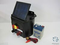 SFC-KC-S010 Solar Powered Energizer Electric Fence Battery Keep Livestock Horses