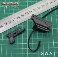 """Free Shipping 4D 1/6 Scale M1911 + Holster Gun Pistol Rife Weapon for 12"""" Figure"""
