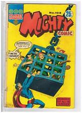 Planet Comics Mighty Comic #103 VG+ 1971 Australian