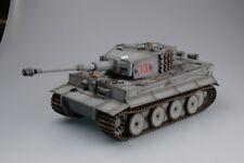Torro 1112100708 Tiger 1 RC Tanque 1/16 con infrarrojo BATALLA Gris