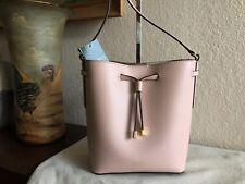 Lauren Ralph Lauren Dryden Mini Leather Drawstring Bag Color-Pink