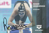 Ranomi KROMOWIDJOJO - Niederlande, Gold Olympia 2008 Schwimmen, Original!