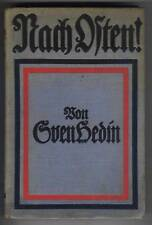 Sven Hedin: Nach Osten ! (m.vielen Abb.)   EA 1916