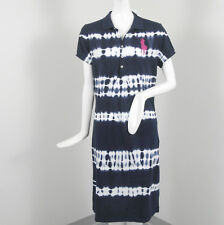 NEW Polo Ralph Lauren Big Pony Tie Dye (Batik) Dress!  S  Cotton Mesh Fabric