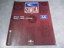 MAGAZINE SIMCA N°64 SIMCA 1000 RALLY SRT 1974