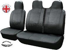 Peugeot Partner (08 on) HEAVY Duty LEATHERETTE Van SEAT Covers - Single + Double