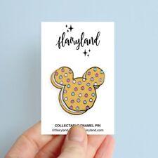 Flairyland Mickey Ice cream Cookie Sandwich enamel pin Disney Inspired